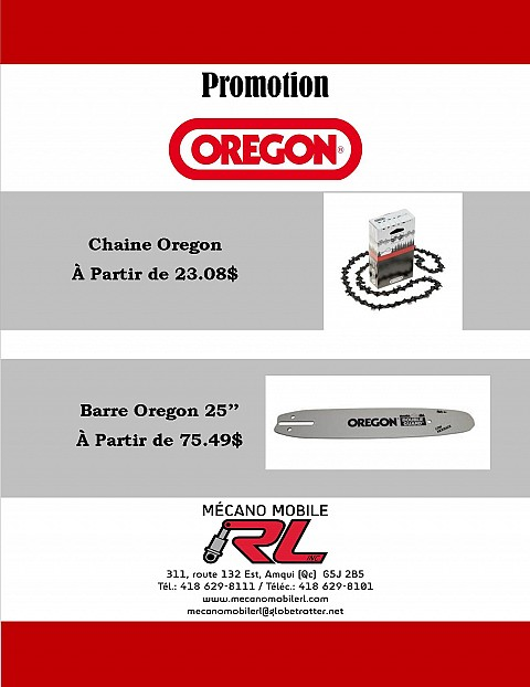 Promotion Oregon